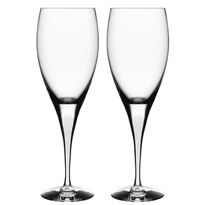 Orrefors Intermezzo Satin Goblet (Set of 2)