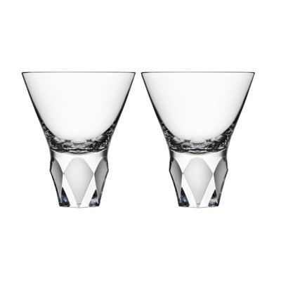 Orrefors Carat Cocktail Glass (Set of 2)