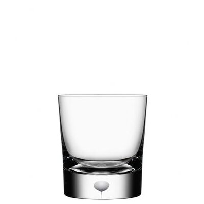 Orrefors Intermezzo Satin Double Old Fashioned Tumbler