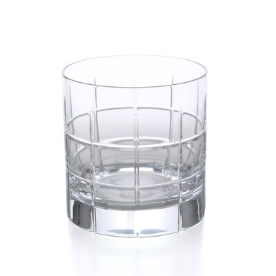 Orrefors Street Double Old Fashioned Glass