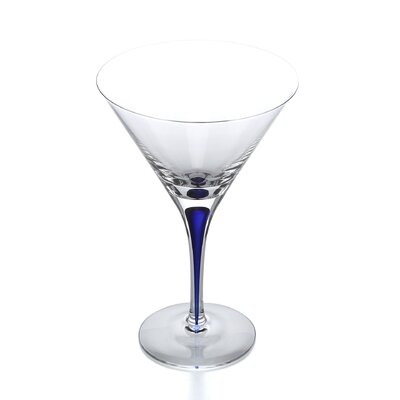 Intermezzo Blue 7 oz. Martini Glass