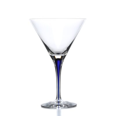 Orrefors Intermezzo Blue 7 oz. Martini Glass