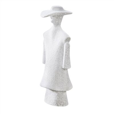 Kosta Boda Catwalk Poncho White Sculpture