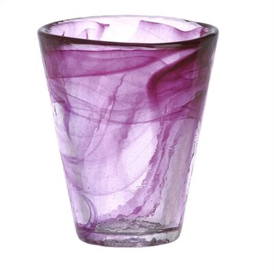 Kosta Boda Mine Pink Tumbler Glass