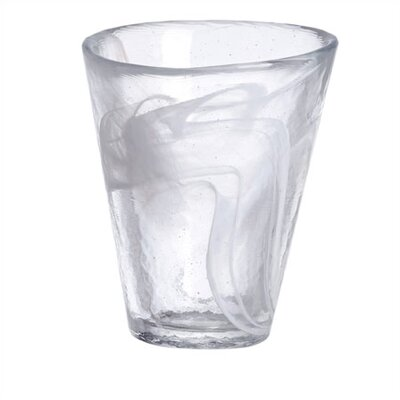 Kosta Boda Mine White Tumbler Glass