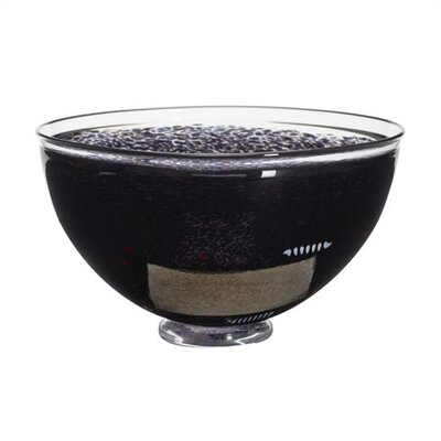 Kosta Boda Satellite Large Black Bowl