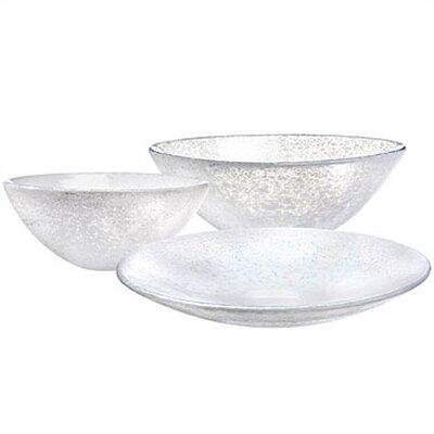Kosta Boda Tellus Small White Bowl