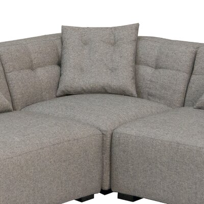 Modern Design International Feather Sectional