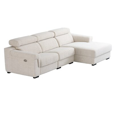 Eurosace Luxury Enzo Sectional - Italian Fabric