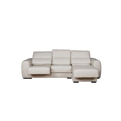 Eurosace Luxury Genny Sectional - Italian Fabric