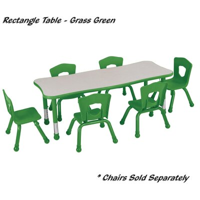 Brite Kids Quick Ship: Classroom Square Table