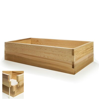 Rectangle Raised Garden Box Planter