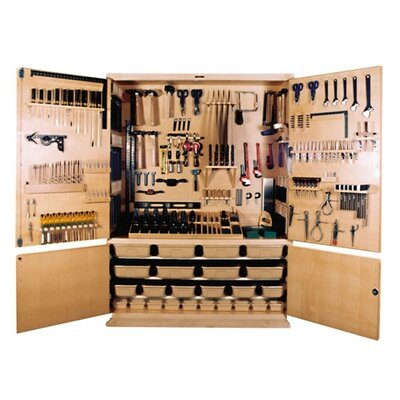Shain Large General Shop Tool Storage Cabinet