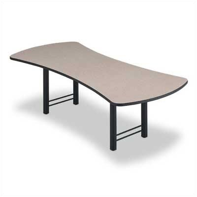 "ABCO 120"" Wide Presentation Top Conference Table with H Base"
