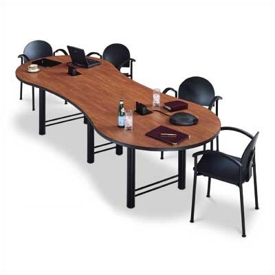 "ABCO 120"" Wide Break Out Top Conference Table with H Base"