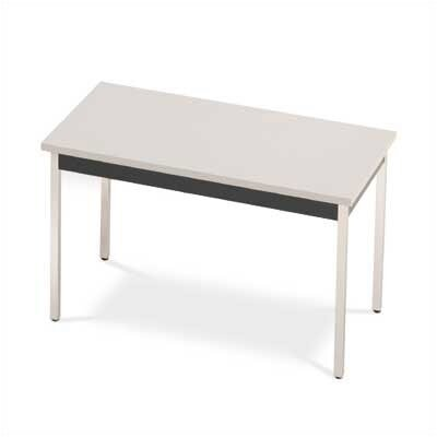 "ABCO 48"" Square Self Edge Utility Table"