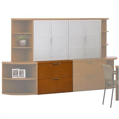 ABCO Unity Executive Wood Freestanding Lateral File