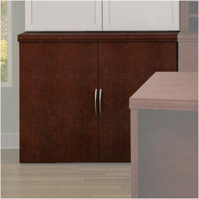 ABCO Unity Executive Series Wood Floating Double-Door Storage Cabinets