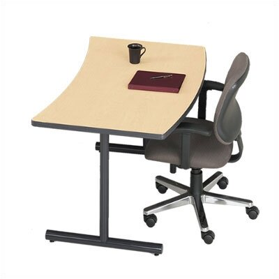 "ABCO Smart Tables: 30"" x 48"" Crescent Concave/Convex 4-Person Table Kit"