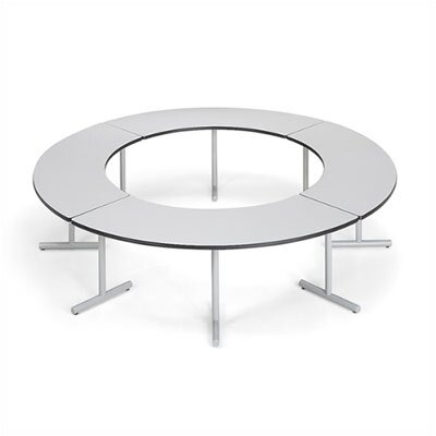 "ABCO Smart Tables: 24"" x 60"" High-Pressure Laminate Arc Conference Table"
