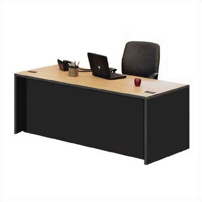 ABCO Unity Double Pedestal Executive Desk with 2 Right & 3 Left Drawers