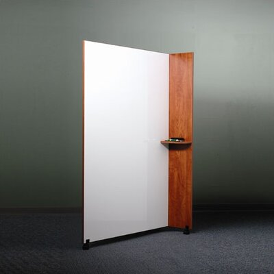 "ABCO Mobile 6' x 4' 1"" Whiteboard"