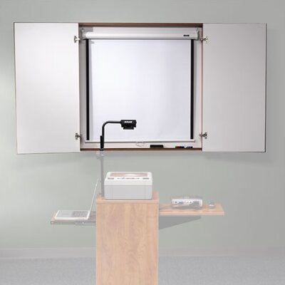 "ABCO Conference Cabinet 4' x 4' 1"" Whiteboard"