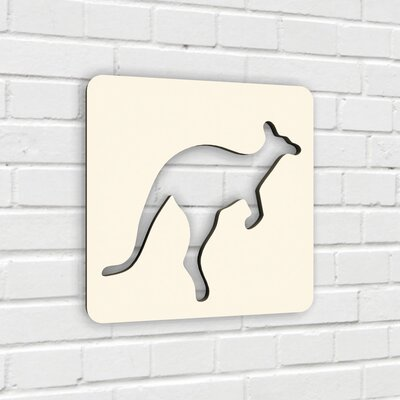 Numi Numi Design The Athlete Kangaroo Wall Décor