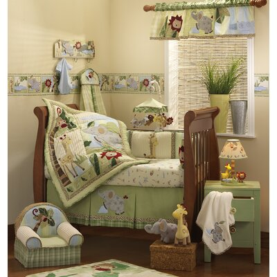 Lambs & Ivy Zoofari Crib Bedding Collection