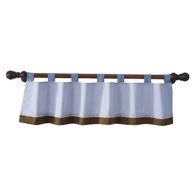 Lambs & Ivy Jake Tab Top Curtain Valance