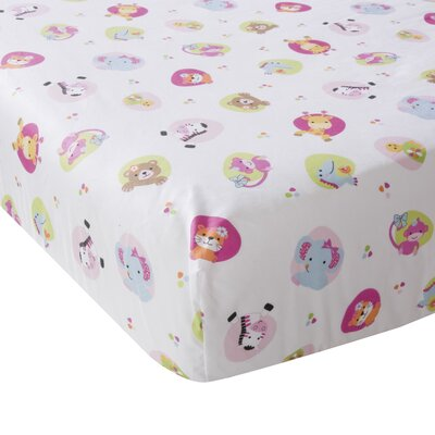 Lambs & Ivy Tutti Frutti Fitted Crib Sheet