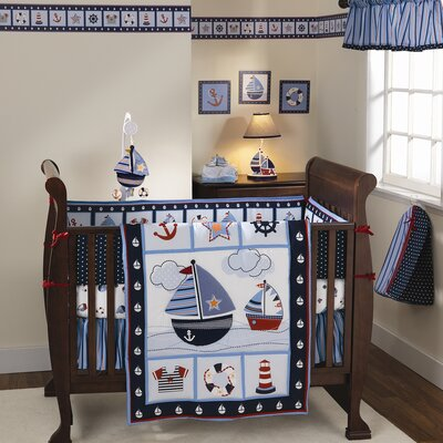 Lambs & Ivy Sail Away Fitted Crib Sheet