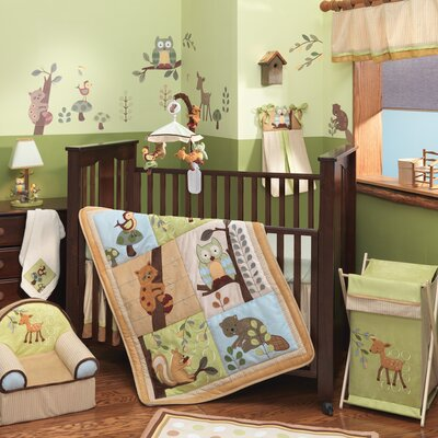 Enchanted Forest Crib Bedding Collection