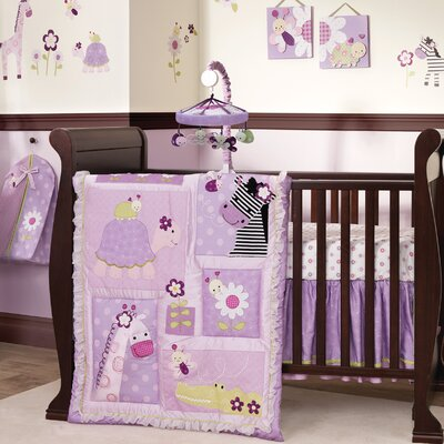 Lambs & Ivy Garden Safari Crib Bedding Collection