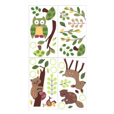 Lambs & Ivy Enchanted Forest Wall Decal