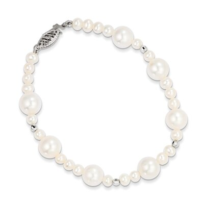 Pearl Mirror Beaded Bracelet