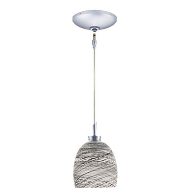 Jesco Lighting Dallas 1 Light Pendant and Canopy Kit