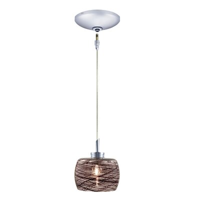 Jesco Lighting Aidan 1 Light Pendant and Canopy Kit