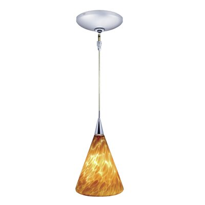 Jesco Lighting Ellis 1 Light Pendant and Canopy Kit