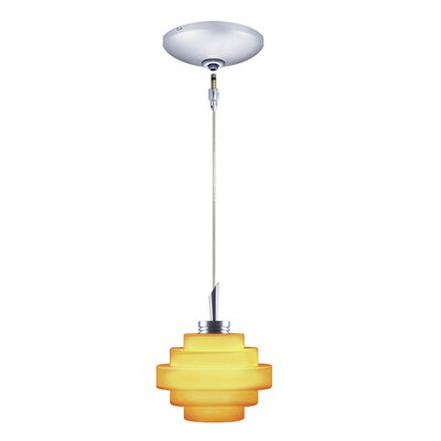 Jesco Lighting Grace 1 Light Pendant and Canopy Kit