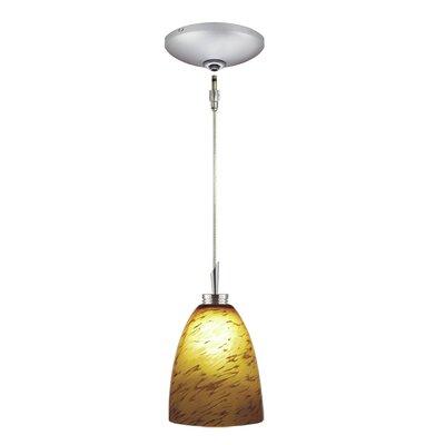 Jesco Lighting Goblet 1 Light Pendant and Canopy Kit
