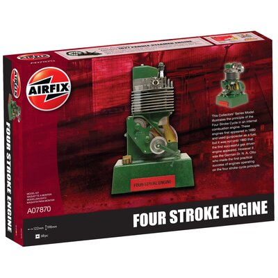 Airfix Four-Stroke Engine Plastic