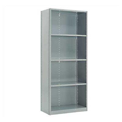 "Penco Closed Clipper Basic 87"" H 7 Shelf Shelving Unit Starter"