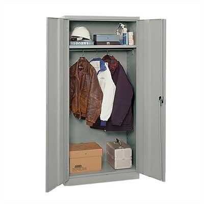 Penco E-Z Bilt Storage - Wardrobe Cabinets with Recessed Handle