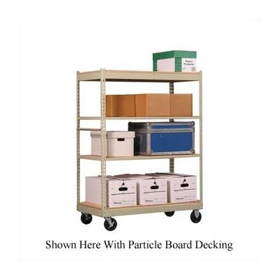 Penco Inventory Carts with White Melamine Deck