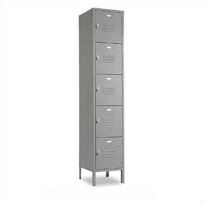 Penco Vanguard Five Tiers 3 Wide Locker (Assembled)