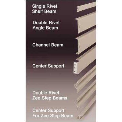 Penco RivetRite Parts - Heavy Duty Single Rivet Shelf Beams