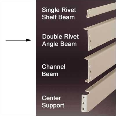 Penco RivetRite Parts - Heavy Duty Double Rivet Angle Beams