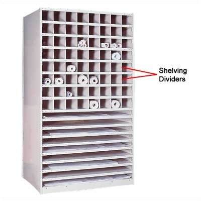 Penco Special Purpose Units - Plan Storage Shelving Dividers
