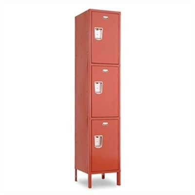 Penco Guardian Triple Tier 1 Wide Locker (Unassembled)